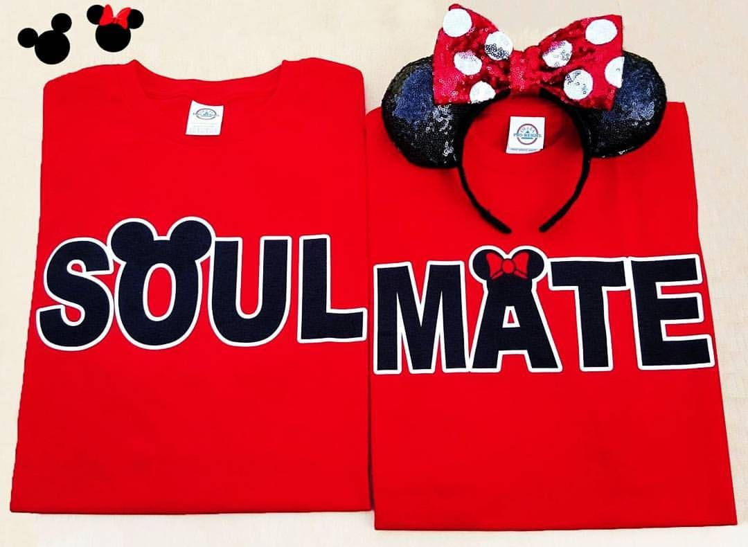 5e46cc119a Disney Couple Shirts Soulmate