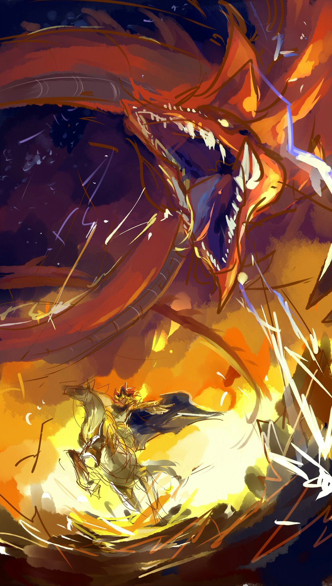 pharaoh atem and slifer the sky dragon osiris yu gi oh