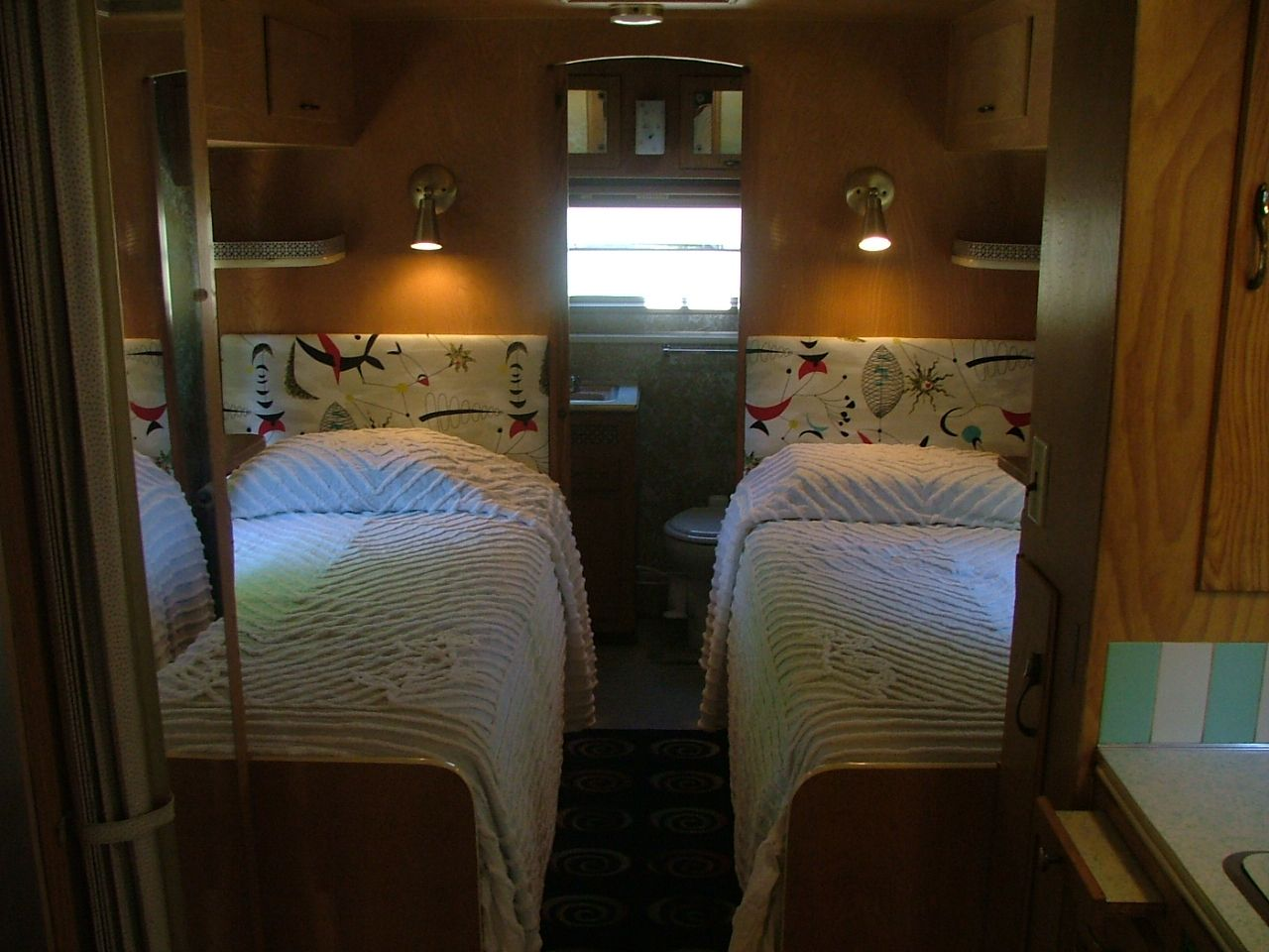 Adventures In Vintage Camping Vintage Trailer Interior Vintage