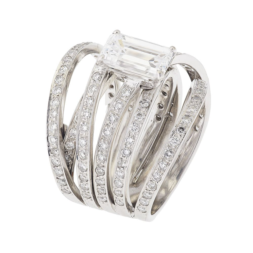 Contemporary Wedding Rings For Women White Gold Diamond Ring Buy: Gar Diamond Wedding Rings Women At Websimilar.org