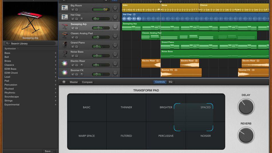 Apple beefs up its beats in GarageBand update | Technology