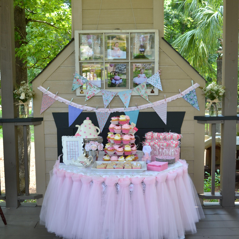 Tea Party Birthday Cakemydayorders@yahoo.com