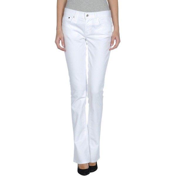 RALPH LAUREN Denim pants ($398) ❤ liked on Polyvore