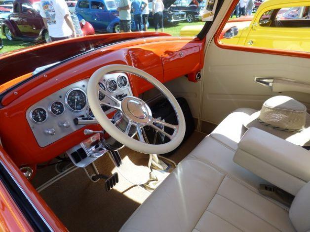1954 Gmc Pu Interior Interior Of A 1953 Chevrolet Pickup Truck