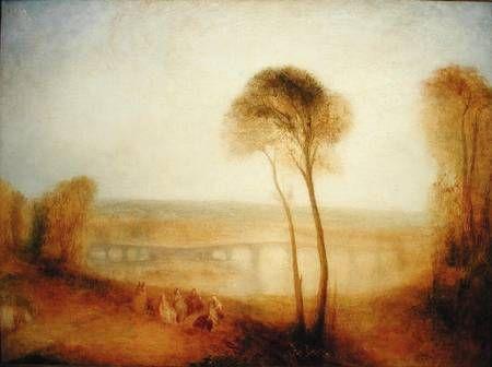 Good Joseph Mallord William Turner Landscape With Walton Bridges,