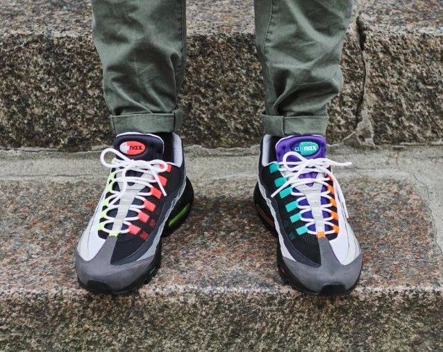 The Nike Air Max 95 Greedy launches in 40 minutes via EU stockists. http: