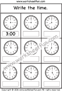 telling the time 2 worksheets printable worksheets first grade worksheets telling time. Black Bedroom Furniture Sets. Home Design Ideas