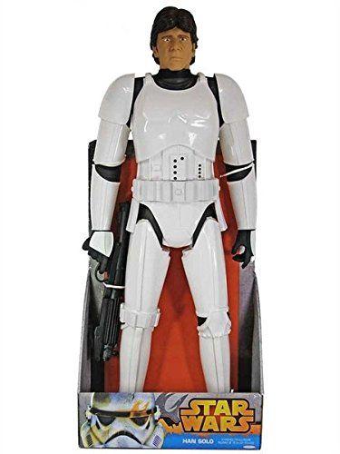 Star Wars HAN SOLO in STORMTROOPER Disguise Custom Carded Mini-figure Minifigure