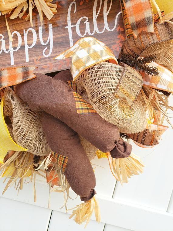 Scarecrow Wreath, Happy Fall Wreath, Scarecrow Door Wreath, Scarecrow Door Decor, Fall Scarecrow Wreath, Fall Wreath for Door #scarecrowwreath Scarecrow Wreath Happy Fall Wreath Scarecrow Door Wreath image 5 #scarecrowwreath Scarecrow Wreath, Happy Fall Wreath, Scarecrow Door Wreath, Scarecrow Door Decor, Fall Scarecrow Wreath, Fall Wreath for Door #scarecrowwreath Scarecrow Wreath Happy Fall Wreath Scarecrow Door Wreath image 5 #scarecrowwreath