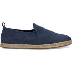Toms Schuhe Dunkelblau Washed Deconstructed Alpargatas Für Herren  Größe 42 TomsToms
