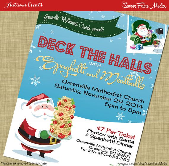 Christmas Fundraiser Flyer.Pin On Christmas Holiday Invitation And Party Printables