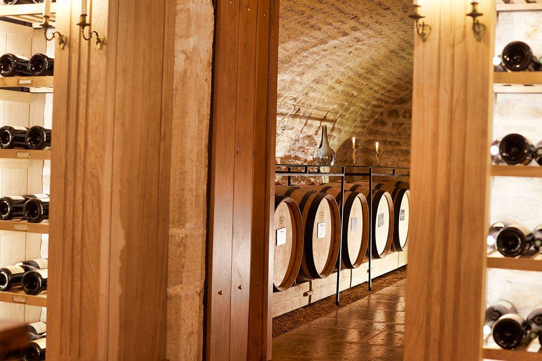 Image result for la maison vougeot design vision wine cellar in