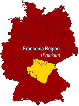 Franconia Franken German Regional Food Specialties German Food