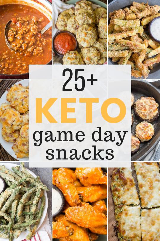 25+ Keto Game Day Snacks