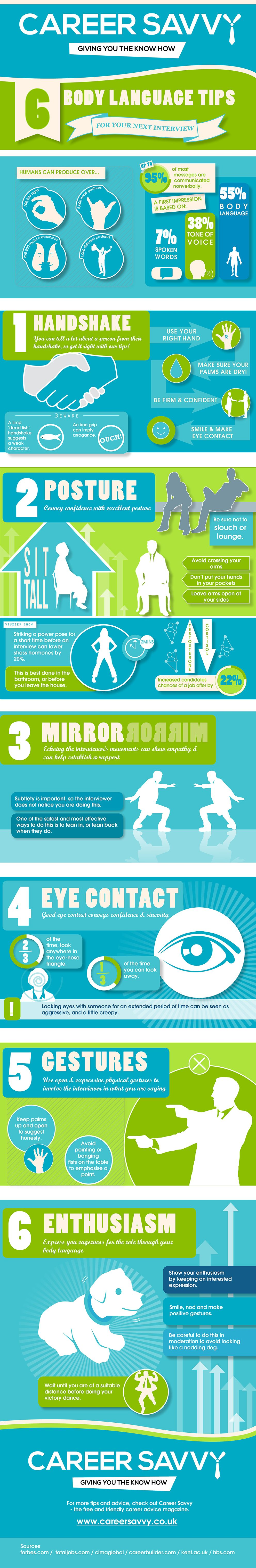 body language tips for your next interview infographics 6 body language tips for your next interview business infographics visual lightscap3s