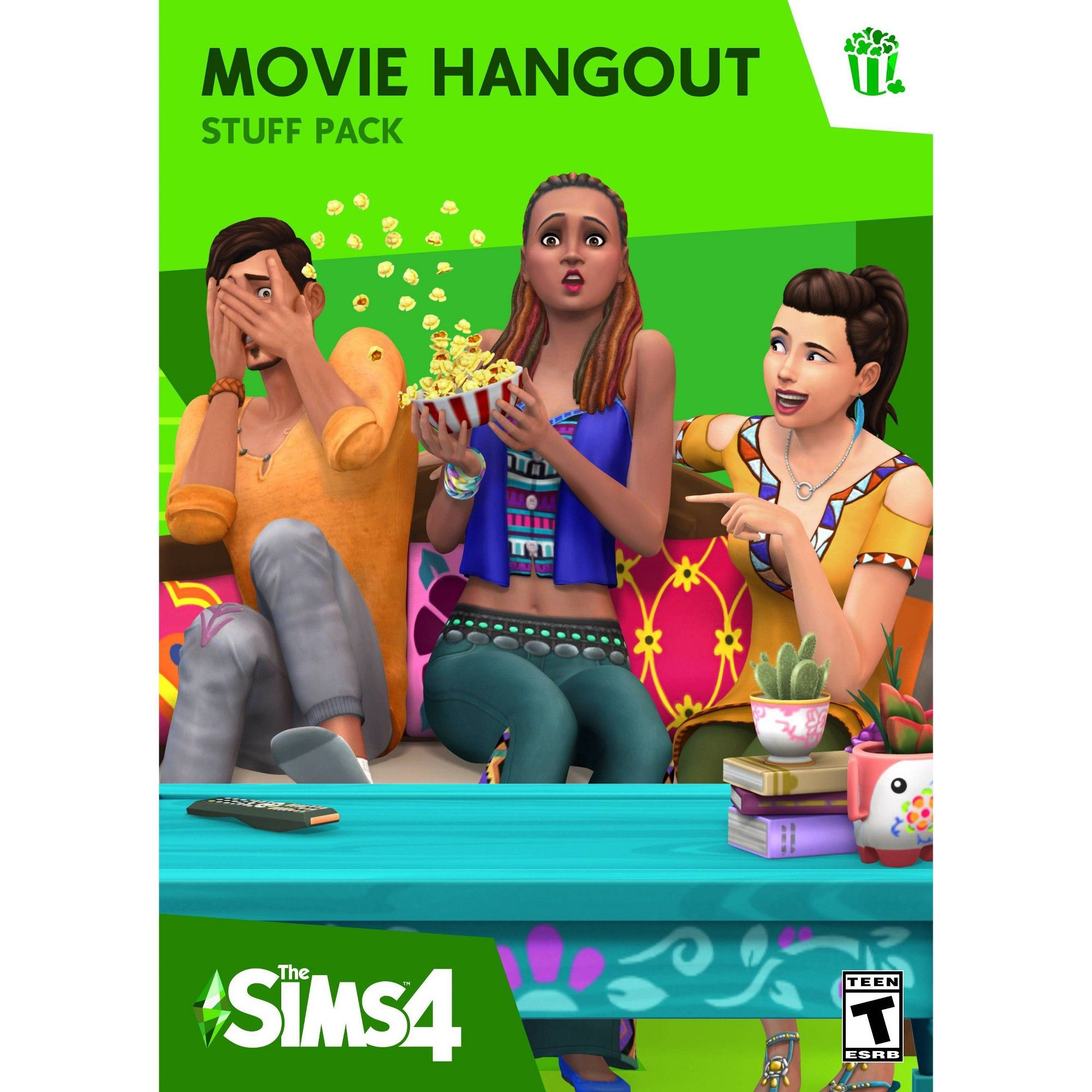 The Sims 4 Movie Hangout Stuff Pack PC Game (Digital