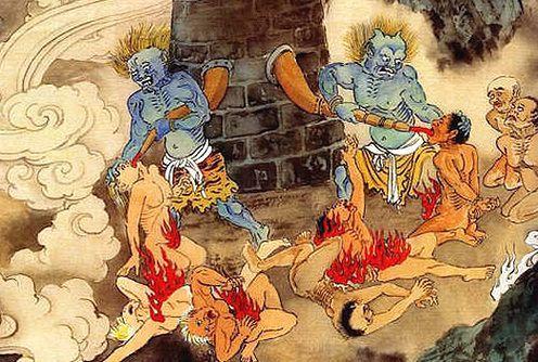 n g 地獄絵図 日本画 イラスト