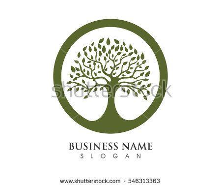 Family Tree Symbol Icon Logo Design Stock Vector 553283770