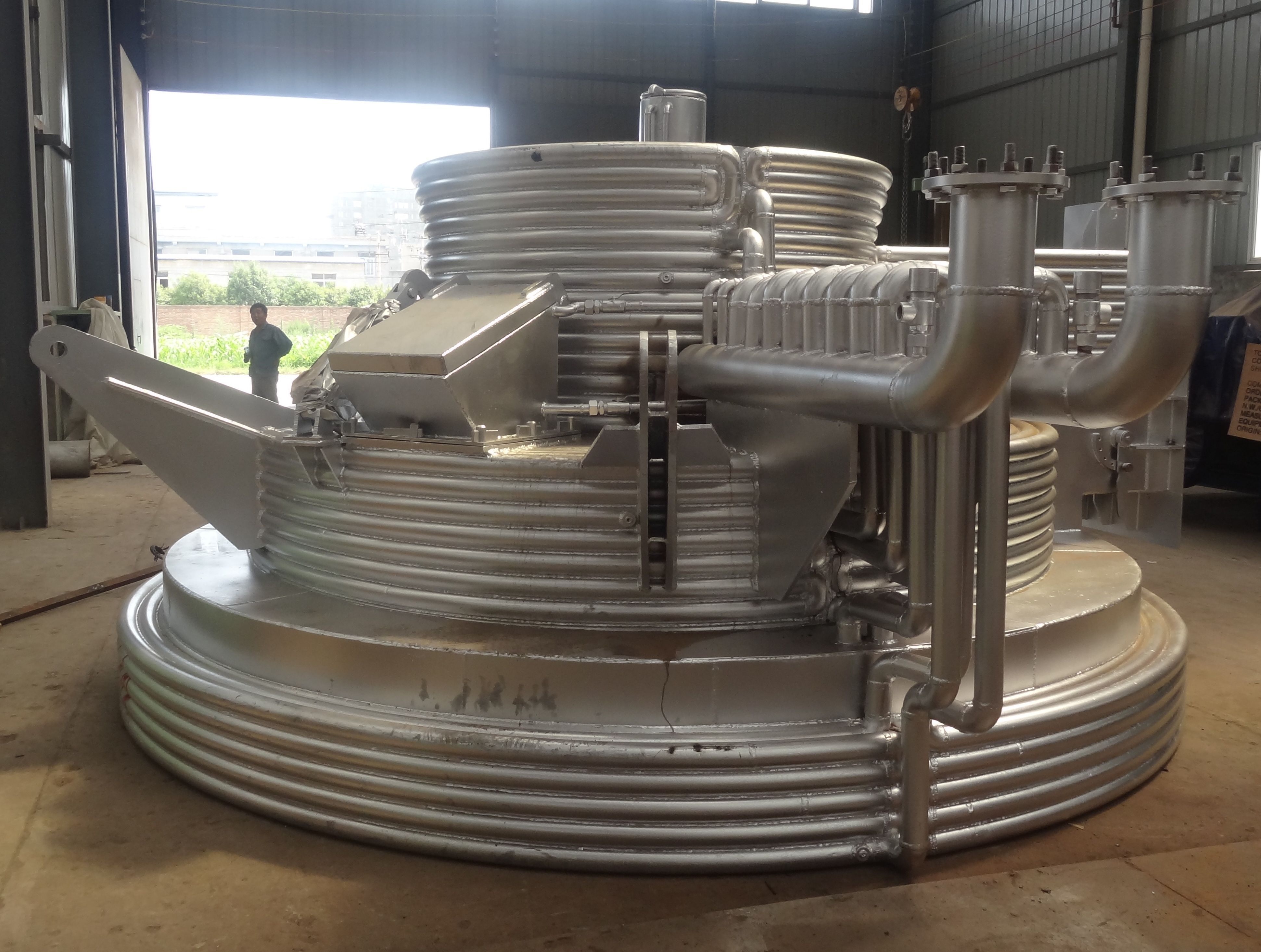 Water Cooled Roof For Ladle Refining Furnace Cool Roof Mechanical Art Furnace