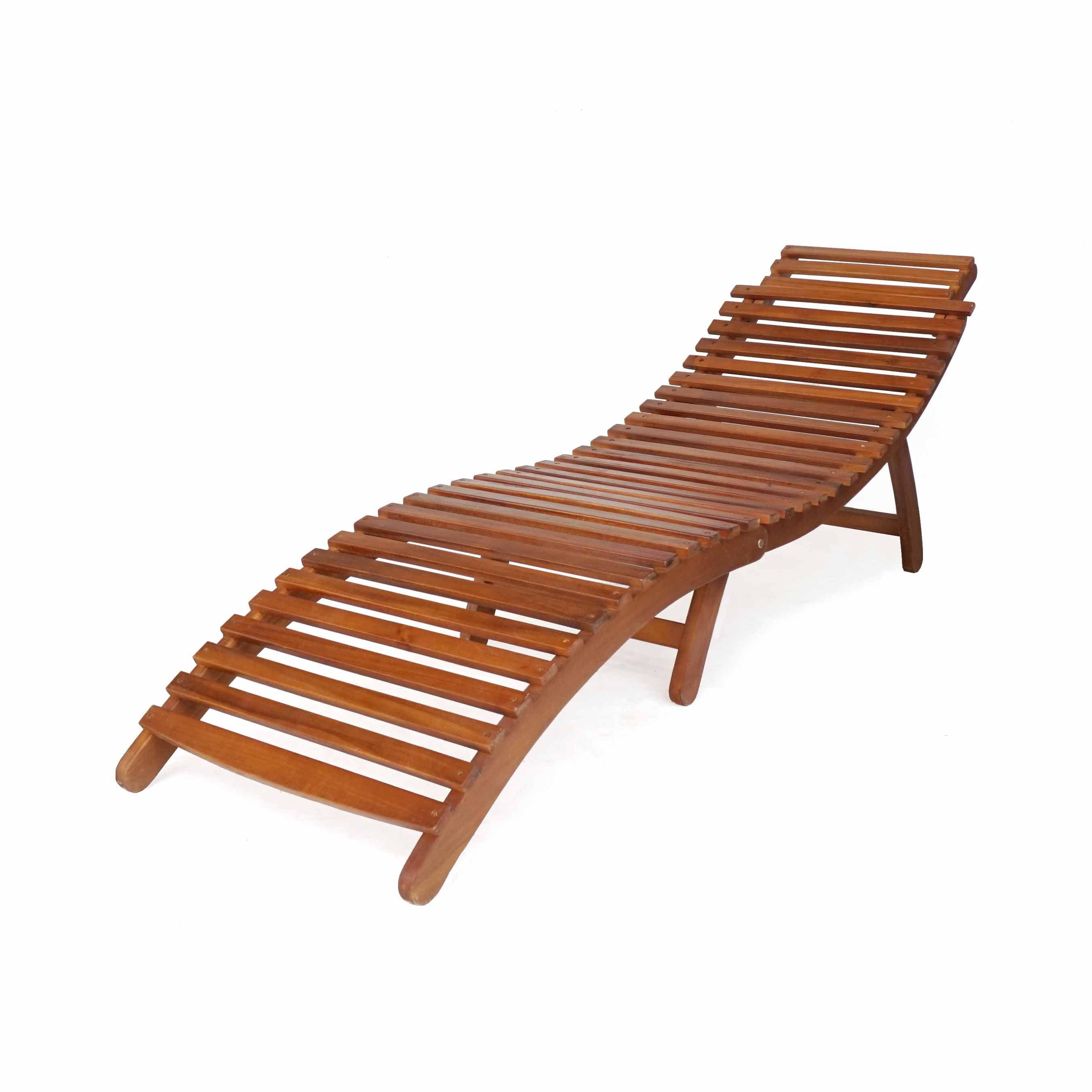 Buy luxo leven timber outdoor sun lounger online australia