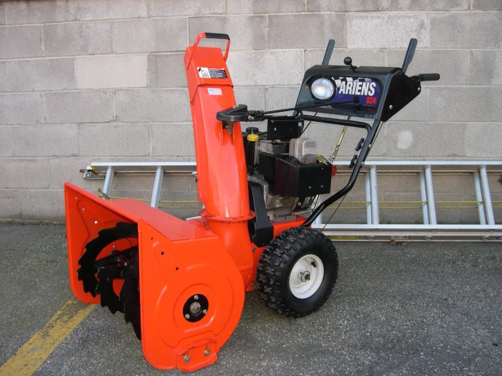 Ariens ST824 Snowblower Prices of parts, Review, Buy now