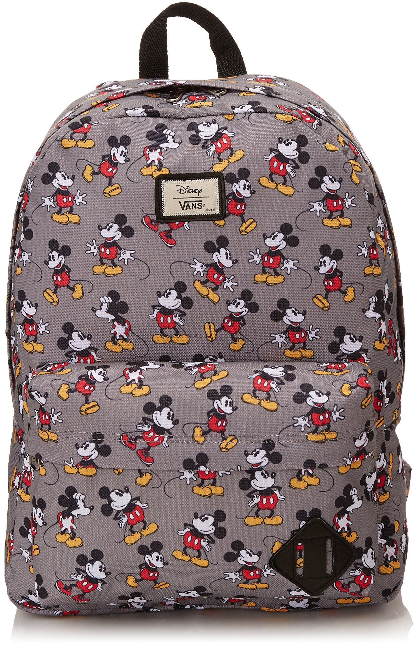 5093a920520 Vans Mens Old Skool II Backpack Mickey Mouse