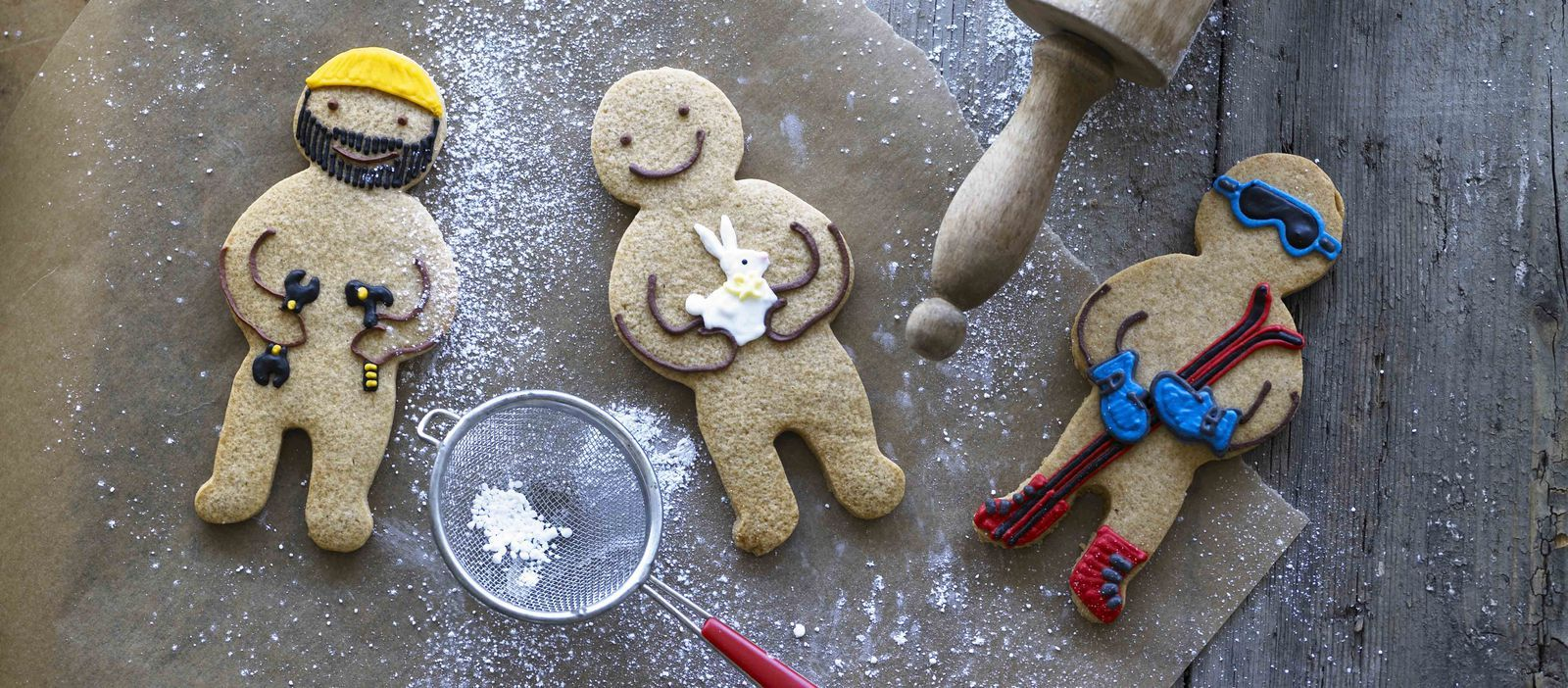 Easy and delicious gingerbread men Recipe Gingerbread