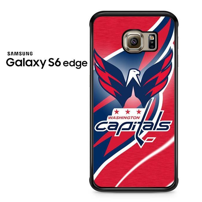 Red Washington Capitals Samsung Galaxy S6 Edge Case