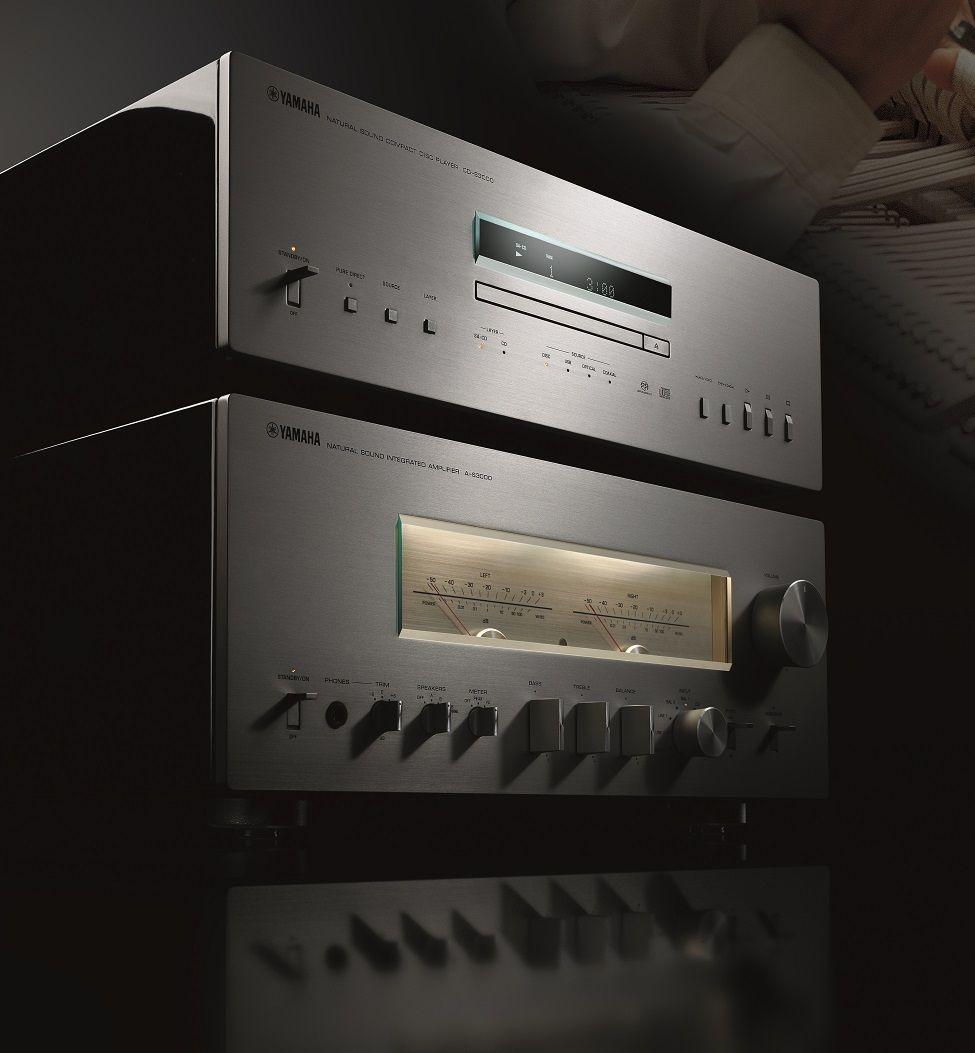 yamaha a s3000 cd s3000 deux nouveaux l ments hifi vintage haut de gamme audiophile. Black Bedroom Furniture Sets. Home Design Ideas