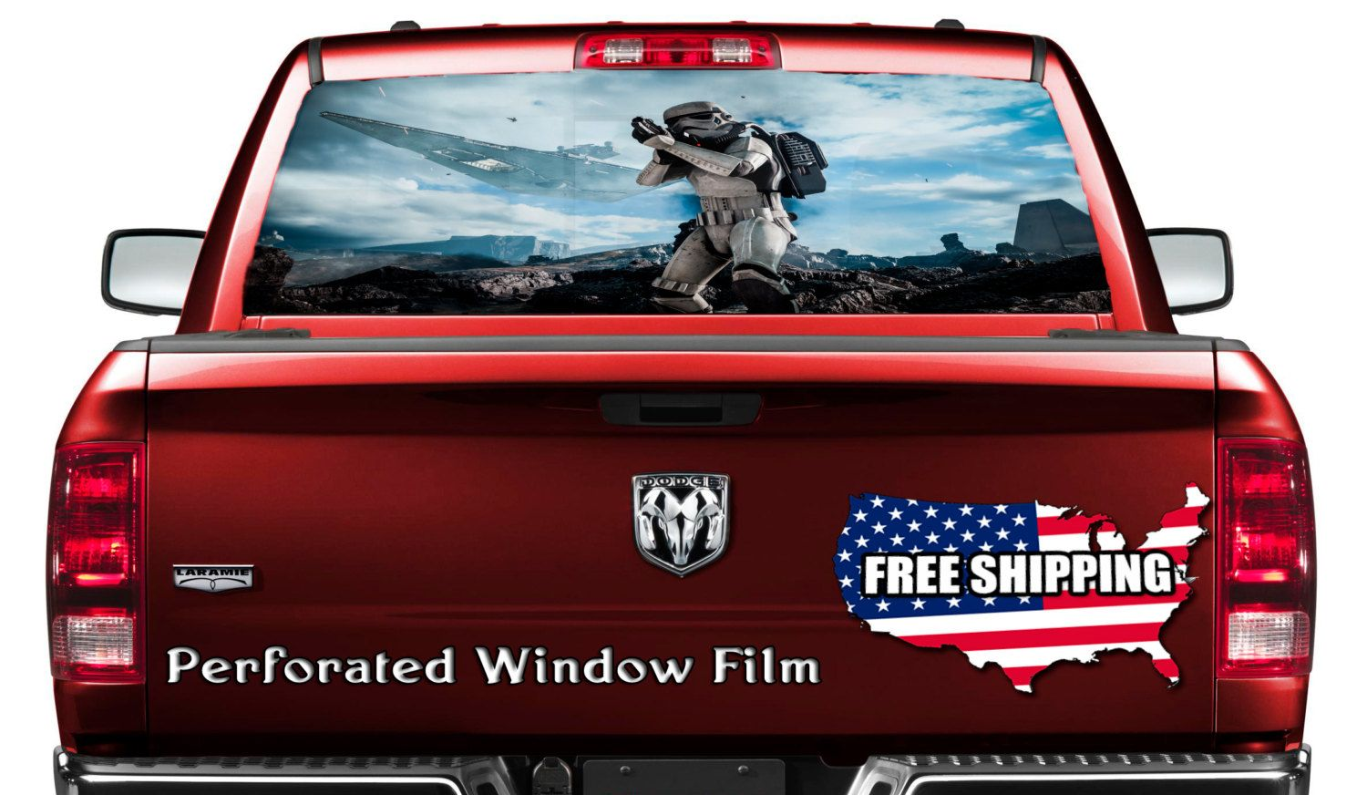 Grunge flag car decal canada car sticker flag full color print perforated film car graphics back window perf028 full color perforated sticker truck
