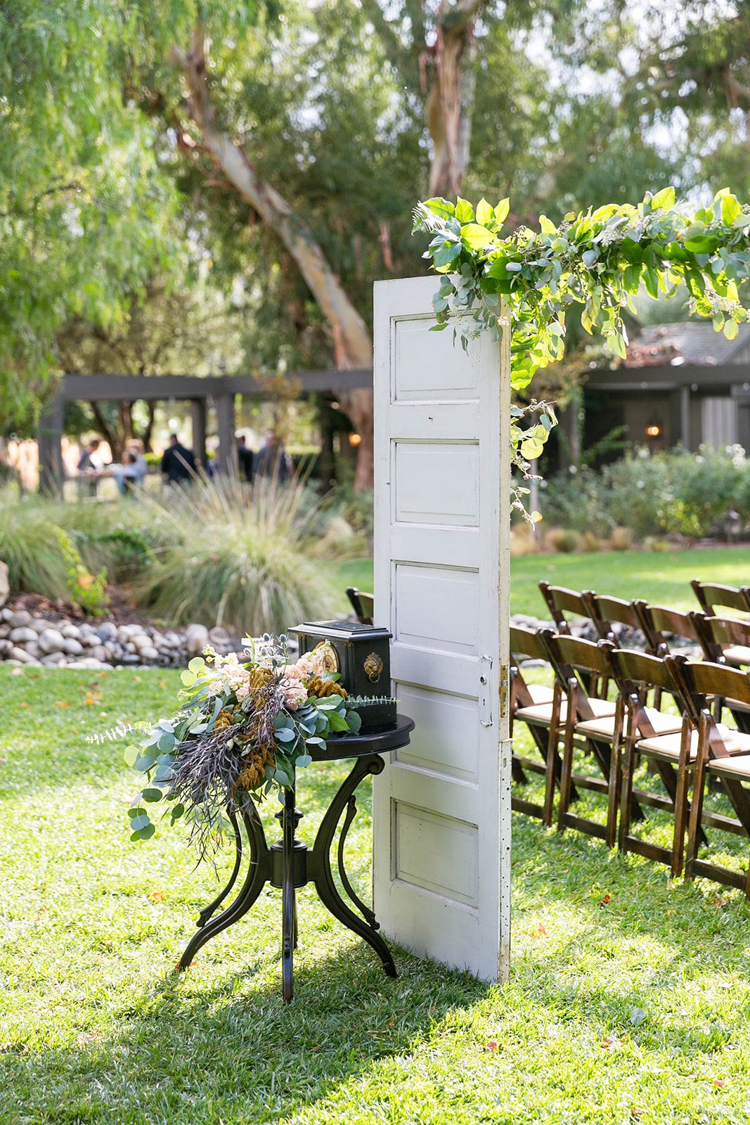 Barn door ceremony site entrance| Galway Downs in Temecula ...