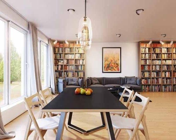 Interior mit Weiss- Holz-dekoration (6) | Interieur Design | Pinterest