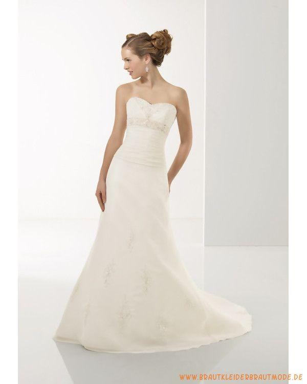Neue Günstige schulterfreie Brautmode aus Chiffon Stickereie auf dem ...