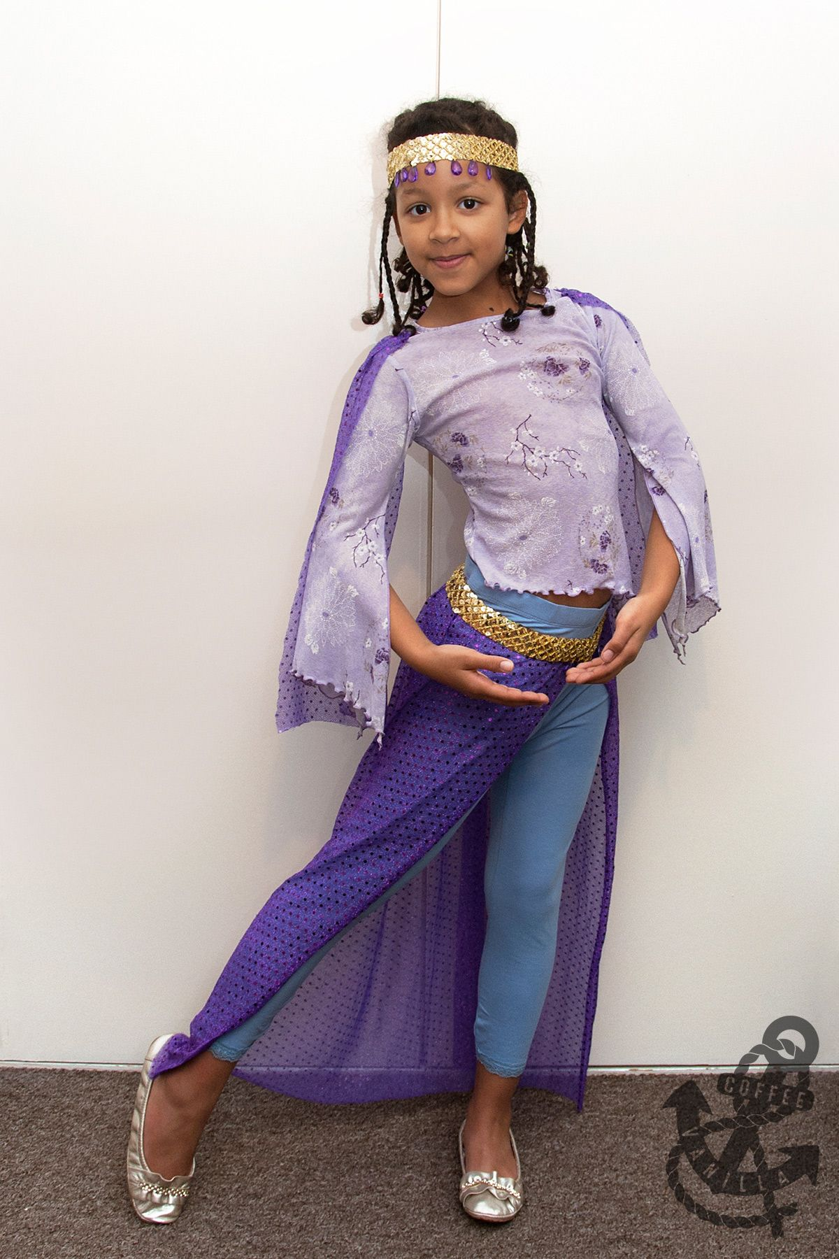 Girls Arabian Princess Costume Middle East Sultan Prince Aladdin Fancy Dress