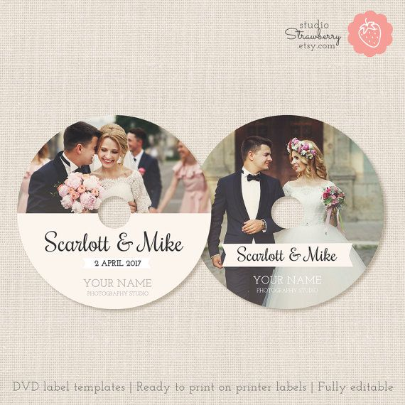 Wedding dvd labels dvd label template cd labels wedding cd rebecca