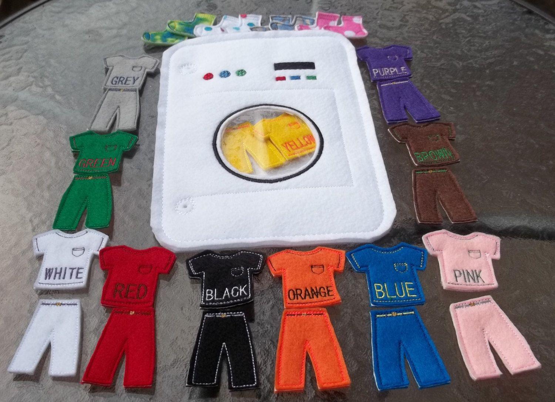 washing machine colors