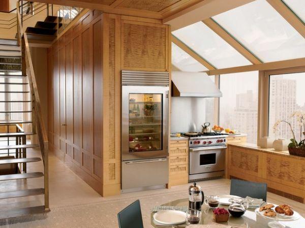 Mini Kühlschrank Glastür : Moderner kühlschrank mit glastür ideen für ein transparentes