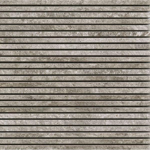 Discontinued Ragno Tile: Ragno Stoneway Barge Antica Mosaic Grigio 30x30 Cm R3QA