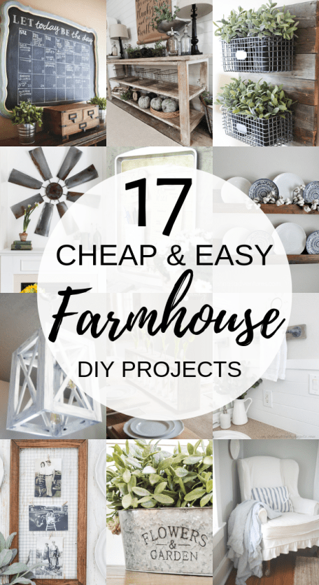 Photo of 17 DIY Farmhouse Decor Projects That Will Save You Time & Money