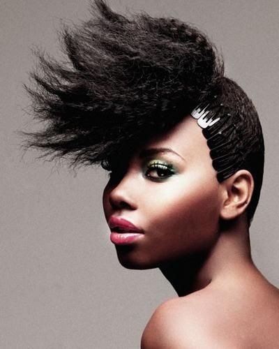 Black Woman! (With images) | Formal hairstyles for short hair, American hairstyles, Hair styles