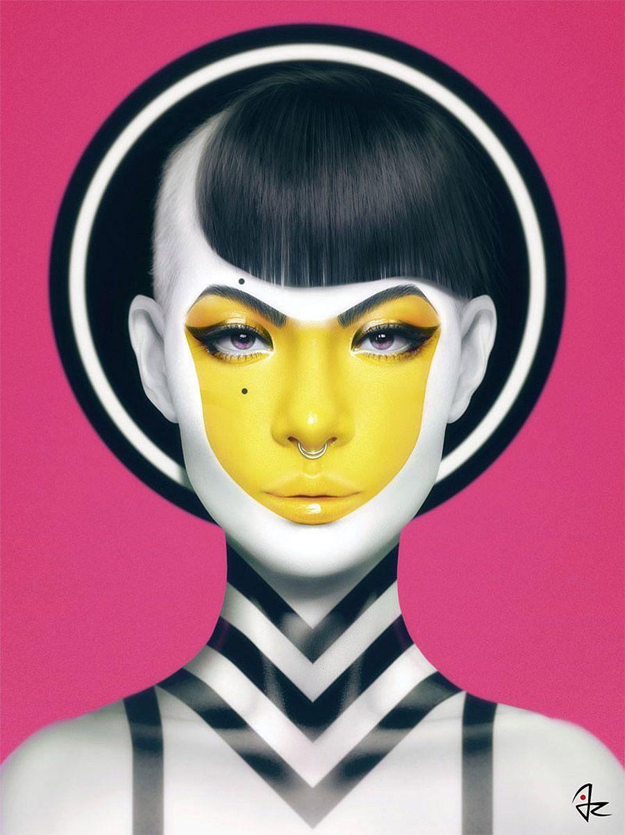 Digital paintings by giulio rossi
