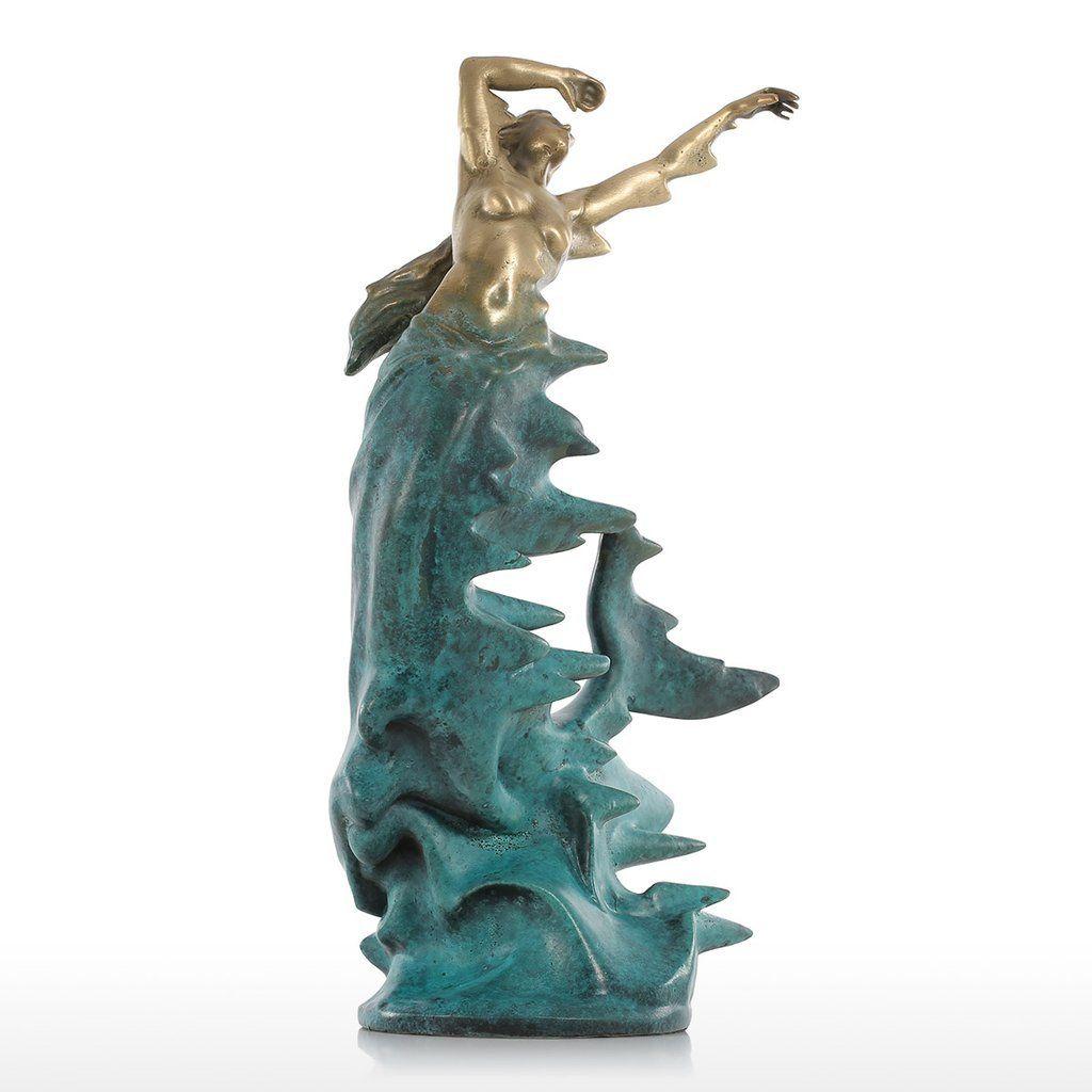Mermaid Statue And Sculpture For Art Decoration Meerjungfrau Sweet Home Make