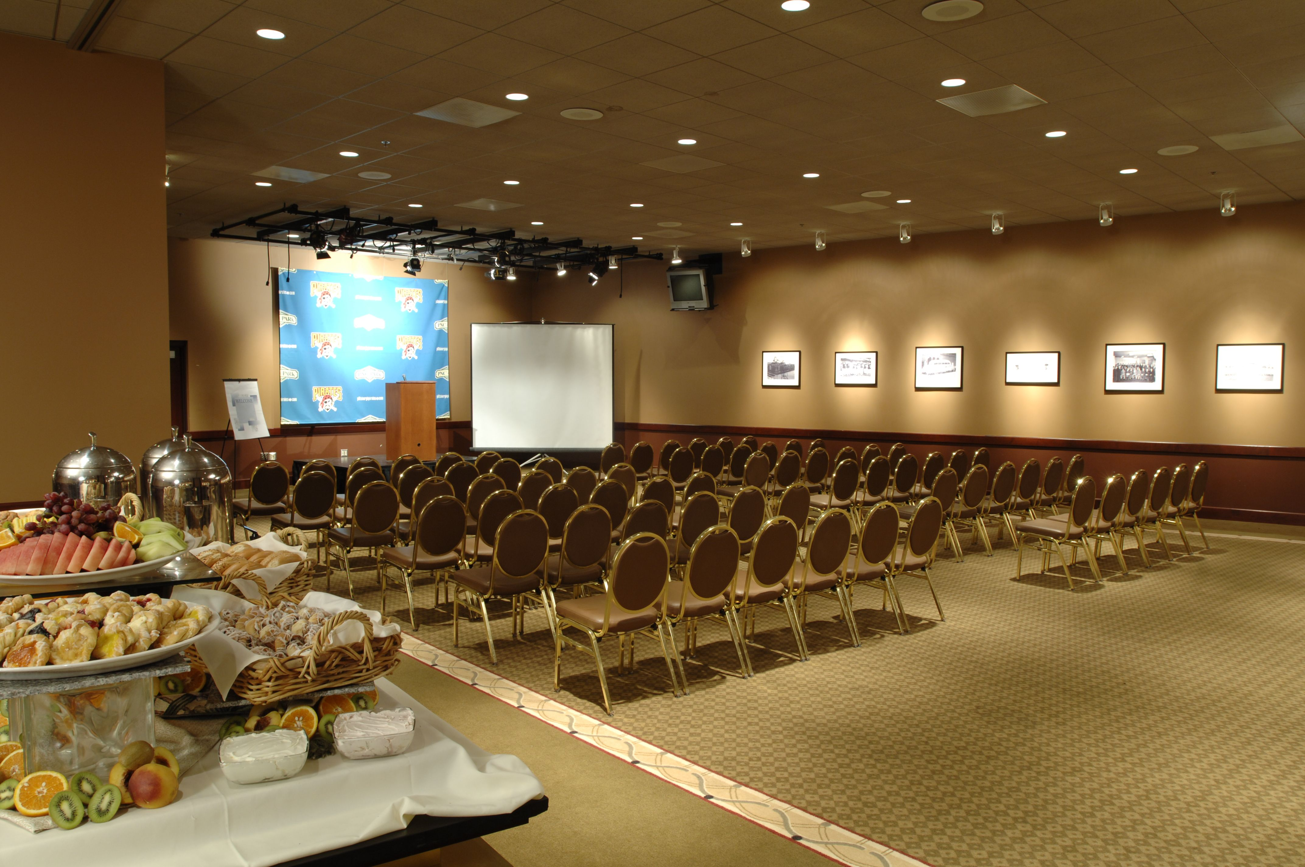 PNC Park Press Conference Room with theater-style seating. | PNC ...