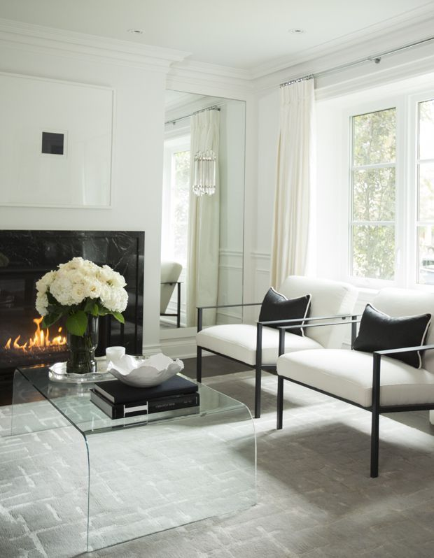 Modern Makeover: From Classic To Contemporary | Woonkamer ...