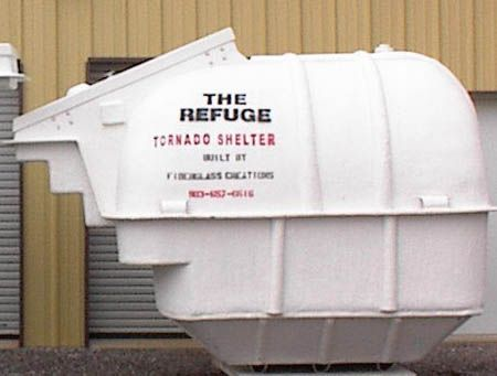 Fiberglass Storm Shelters An Alternative Protection For