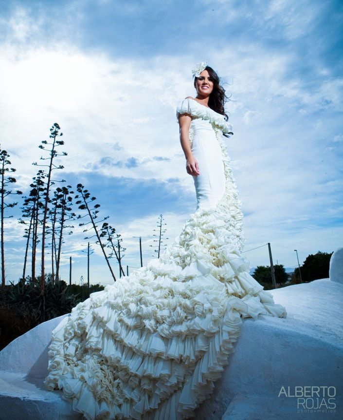 gorgeous wedding dress!!! from spanish designer vicky martin ...