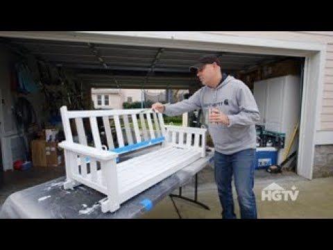 Masters of Flip: DIY Porch Swing Refurbishment - YouTube