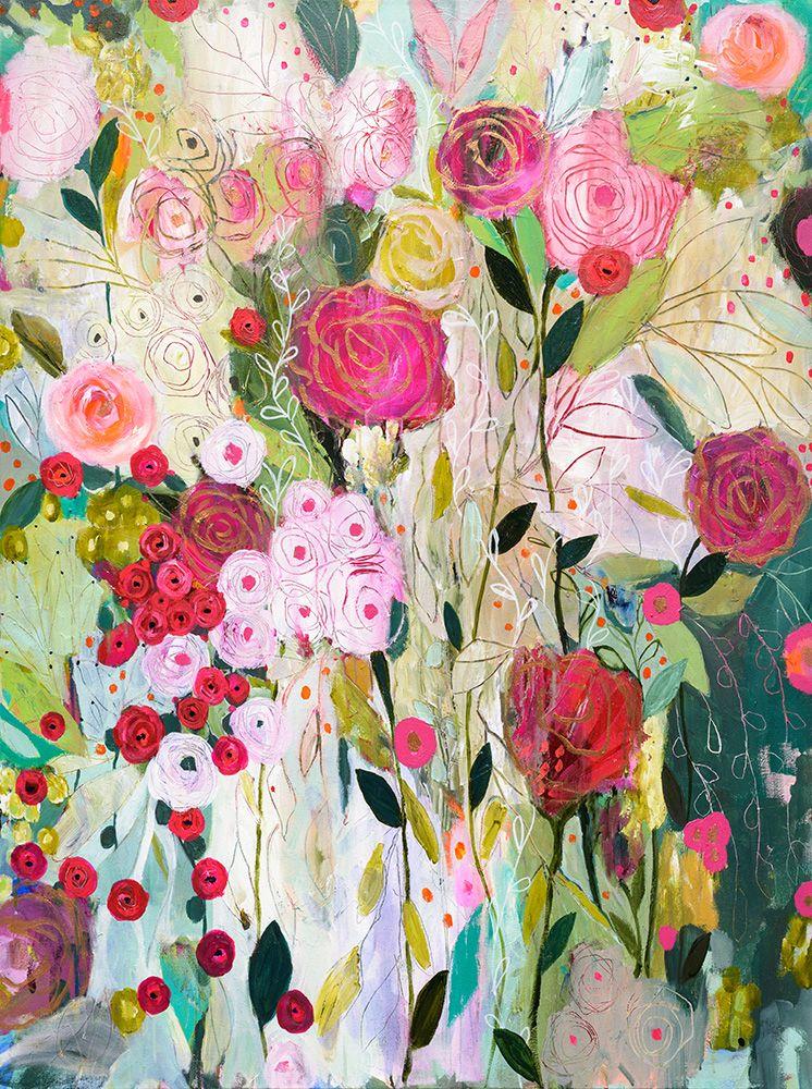 Wild Rose 36x48 By Carrie Schmitt At Www Carrieschmittdesign Com