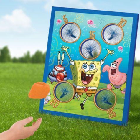 Spongebob Bean Bag Toss Game Party City Joson Spongebob Party
