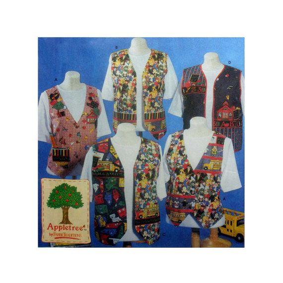 Women's Vest Sewing Pattern Misses Size Large, XL 18, 20, 22, 24 Uncut Simplicity 0608 #plussizesewing